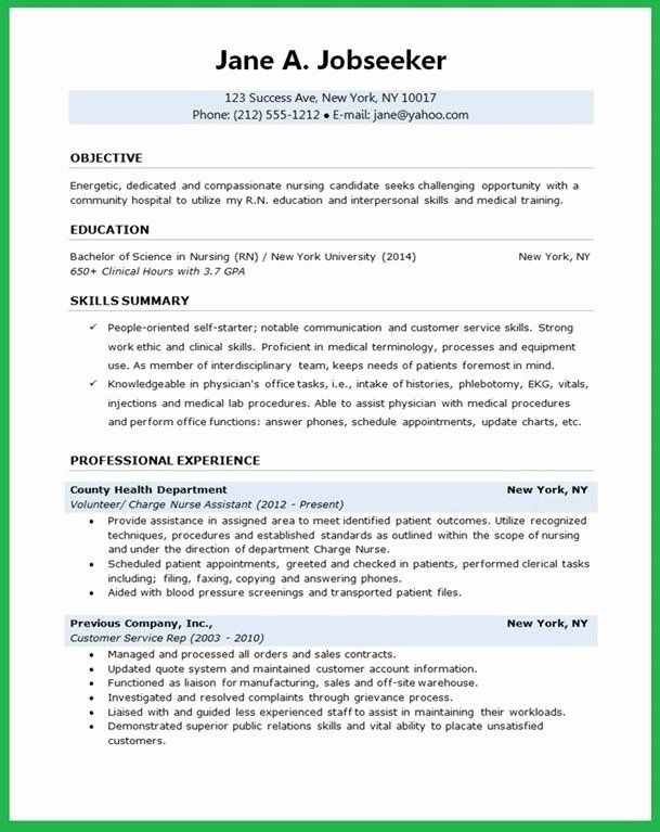 Entry Level Public Health Resume Inspirational Image Result For Ac Plished New Public Heal Student Nurse Resume Nursing Resume Template Nursing Resume Examples