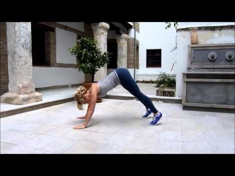 Skinny Mom 14 Day Challenge Workout - YouTube