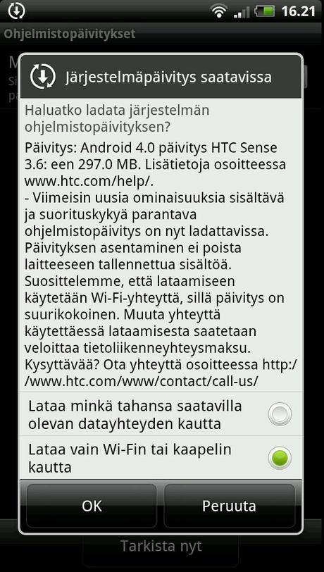 HTC Sensation ja Sensation XE saivat ICS päivityksen!