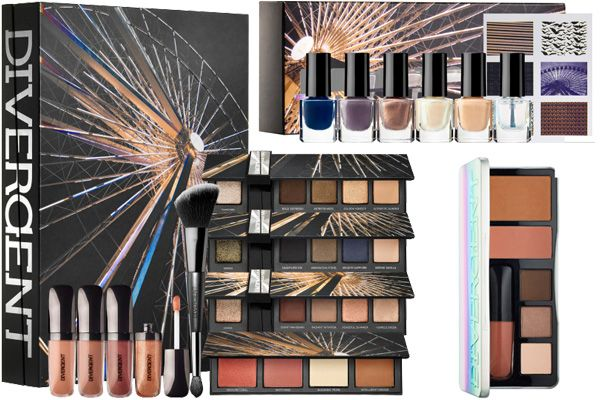 Sephora's Divergent collection will be available starting in March (just in time to rock the makeup and polishes to opening night!)