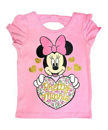 Look what I found on #zulily! Pink 'Pretty Minnie' Tee - Toddler #zulilyfinds