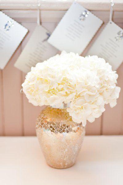 Hydrangea Flower Arrangements Wedding Flowers Photos on WeddingWire