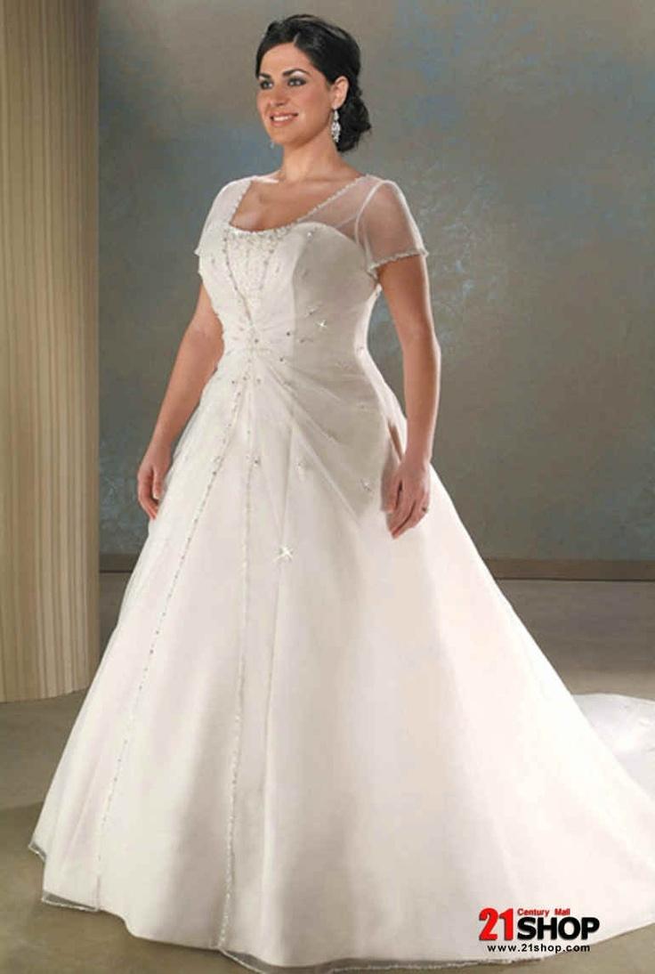 154 best curvy bridal images on pinterest wedding dressses shop gorgeous plus size wedding dresses at davids bridal sleeve plus size wedding dress get cheap plus size long sleeve ombrellifo Image collections