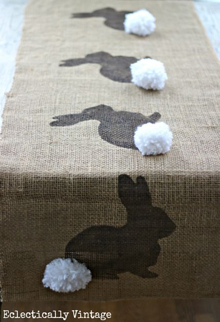 15 Bunny Silhouette Crafts for Easter · Home and Garden   CraftGossip.com