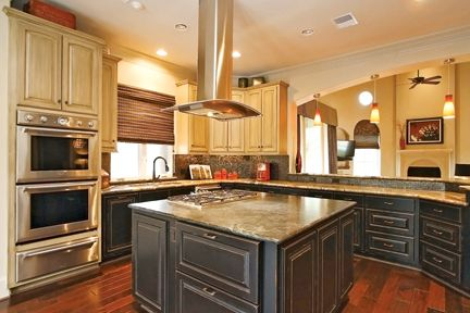 Kitchen islands with built in stove amenity 5915 for Kitchen island houston