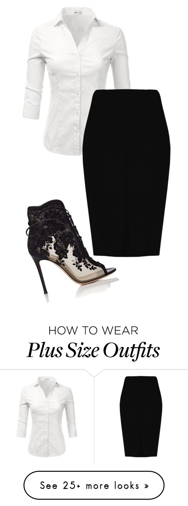"""""""Open Rp-red"""" by ls-purplegirl on Polyvore featuring Doublju, Boohoo and Gianvito Rossi"""
