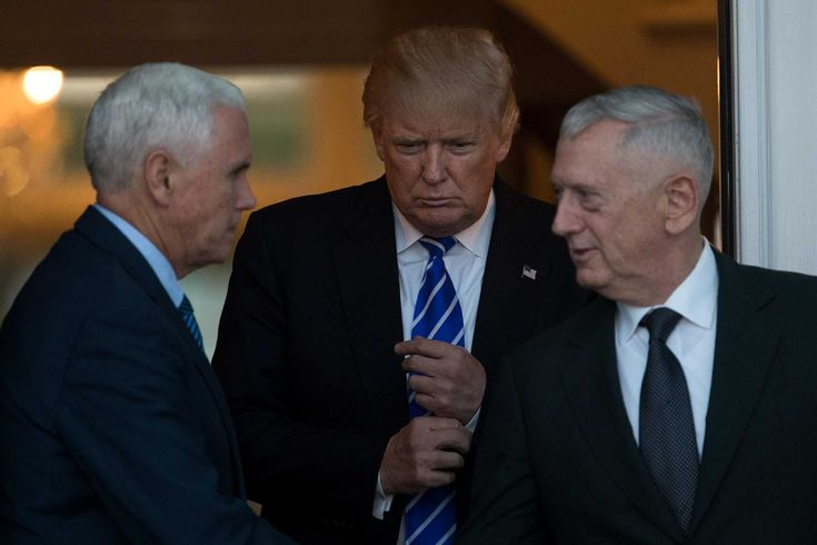 President-elect Trump is considering retired Marine Corps Gen. James Mattis to serve as secretary of defense. The idea wins a lot of support, but some have qualms.