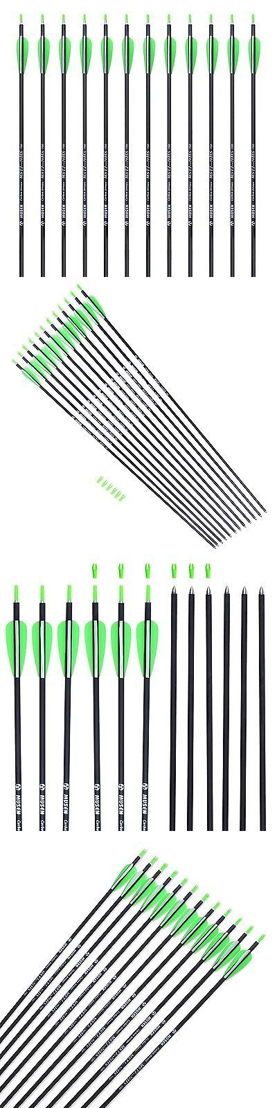 Complete Arrows 181308: Musen Carbon Arrows 30-Inch Fletching 2.5 Target Practice Archery Arrows Fo... -> BUY IT NOW ONLY: $31 on eBay!