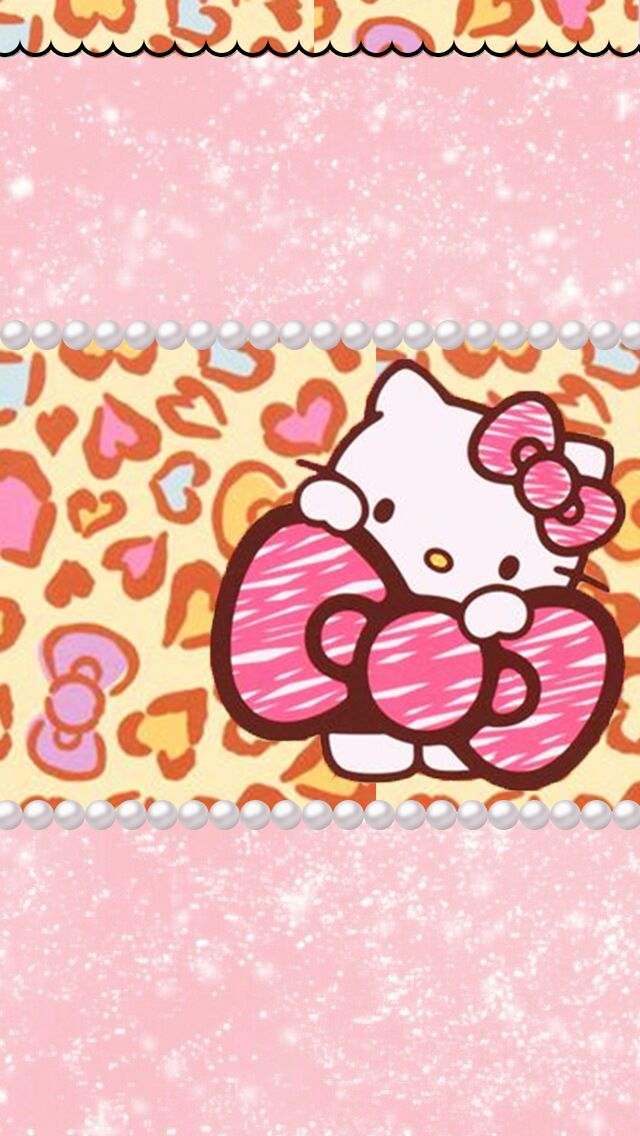 Pictures Of Hello Kitty Leopard Wallpaper For Iphone Wwwkidskunst