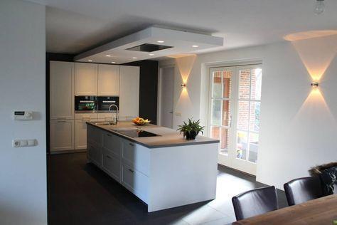 Modern kookeiland : Moderne keukens van Tinnemans Keukens