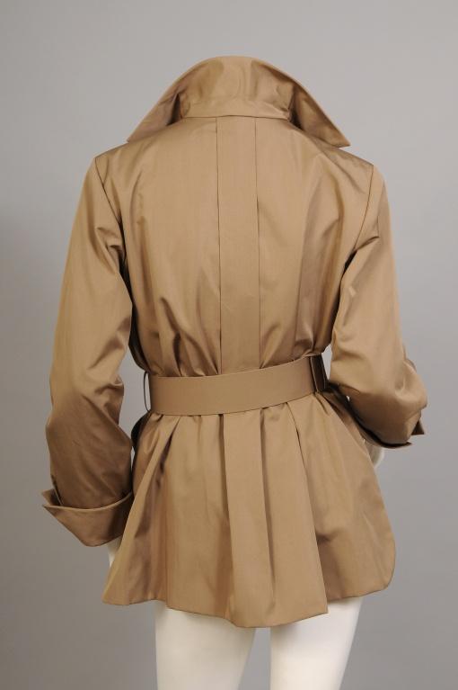 1stdibs | Rare Yves Saint Laurent Haute Couture Safari Jacket