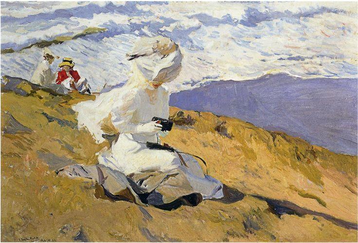 Snapshot at Biarritz, 1906  Joaquin Sorolla