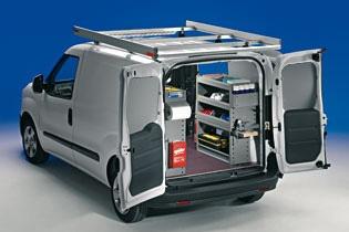 Modello di Officina Mobile Store Van per Opel Combo