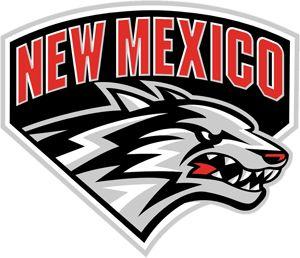 New Mexico Lobos UNM Football Team Logo
