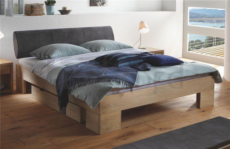 Hasena Cova Elipsa - Solid Oak Bed