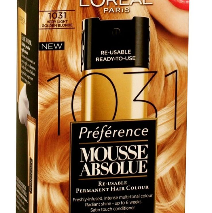 1031 VERY LIGHT GOLDEN BLONDE LOREAL  HAIR COLOUR  Re-usable ready-to-use  Brand New/price per unit Homecityshop £9.99 Postage £2.99
