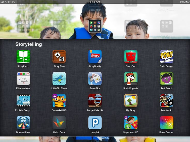 22 storytelling apps for the iPad, many with example projects. Great way to promote creativity with technology!