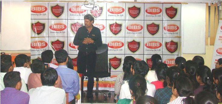 Kapil Dev at BIBS