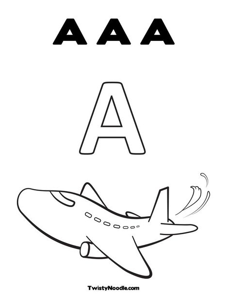 43 Best Alphabet Coloring Pages Images On Pinterest