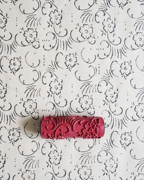 die besten 25 gemusterte farbroller ideen auf pinterest farbroller bauernhaus schlafzimmer. Black Bedroom Furniture Sets. Home Design Ideas