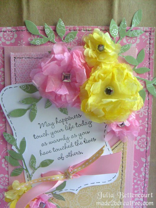 60 best creative gift wrapping ideas images on pinterest for Creative tissue paper ideas