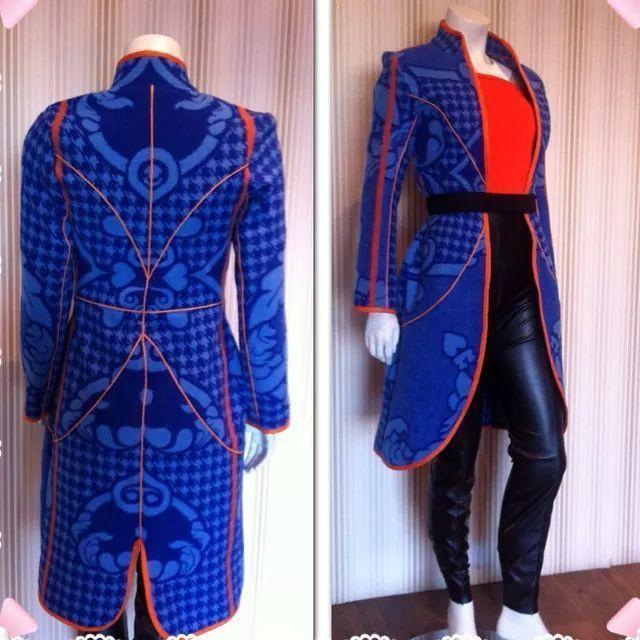 Thabo Makgetha Designs - Basotho blanket redesigned!!!