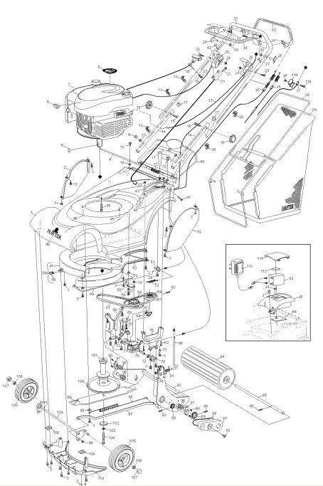 harrier engine diagram html