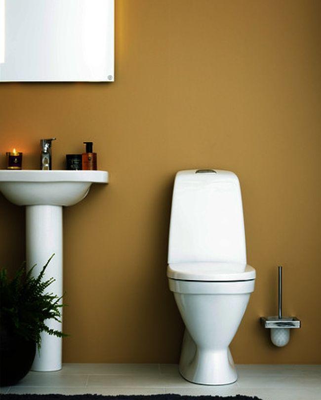 6022298 Gustavsberg GB1115002R1331G Gustavsberg Nautic 1500 Gulvst. toalett Med HygieneFlush og Soft Close sete/lokk