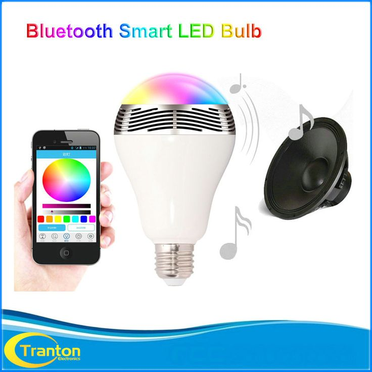 BL-05 Smart  LED Lights Speaker Bluetooth 4.0 with Music Play APP Remote Control Stereo Sound