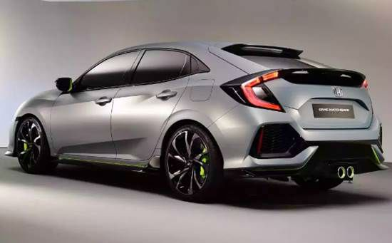 2017 Honda Civic Hatchback Release