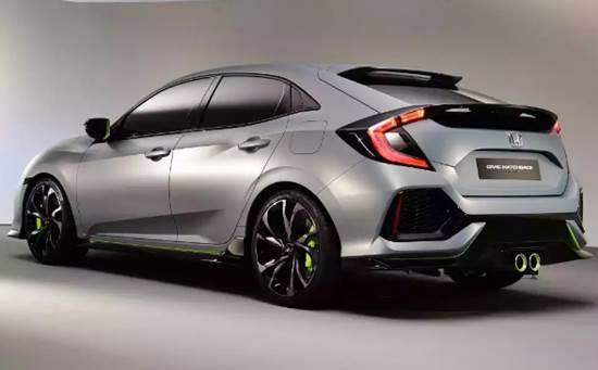 2017 Honda Civic Hatchback Release