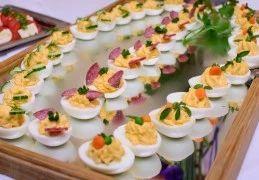 Recept voor Gevulde eieren op 10 verschillende variaties