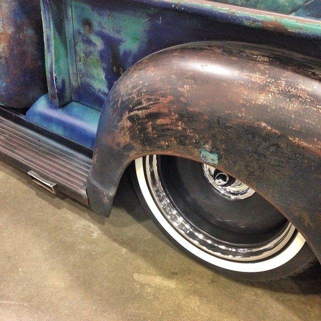 """Greg Halliway's 1949 Chevrolet With 20"""" Steelies (Detroit Steel Wheels)"""