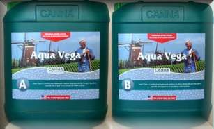 Canna Aqua Vega A + B 5 liter combo This is a combo pack of Canna Aqua Vega A + B in 5 liter jugs. It is much more economical in 5 liter jugs than 1 liter jugs and with the combo pack you get both A+B. #canadianwholesalehydroponics