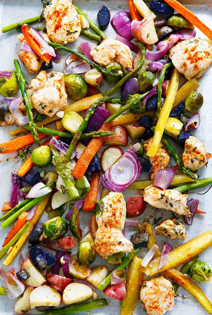 I am LOVING one-pan, sheet-pan or any meal that is essentially mess-free! This Sheet Pan Chicken and Veggie Dinner is …