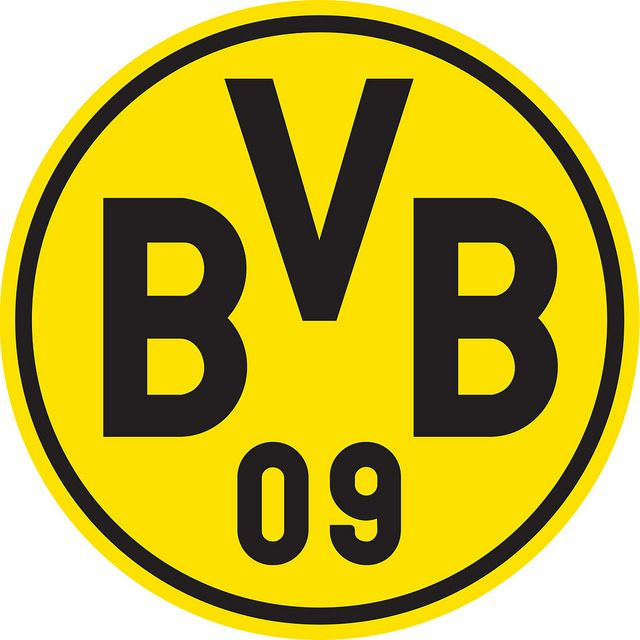 Borussia Dortmund (Ballspielverein Borussia 09 e.V. Dortmund) | Country: Germany / Deutschland. País: Alemania. | Founded/Fundado: 1909/12/19. Badge / Crest / Escudo.