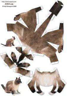 модели из бумаги схемы животные: 19 тыс изображений найдено в Яндекс.Картинках