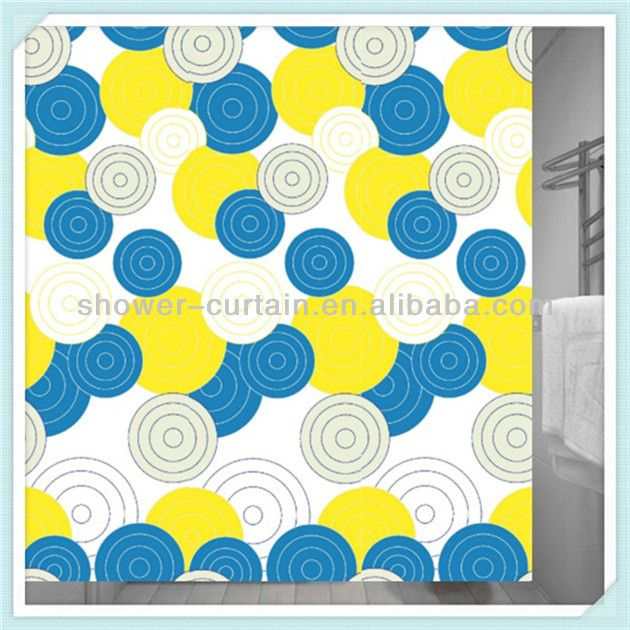 Teal And Yellow Shower Curtain  Mi Zone Microfiber Printed 72x72  Blue Yellow Shower Curtain   Mobroi com. Blue And Yellow Shower Curtain. Home Design Ideas
