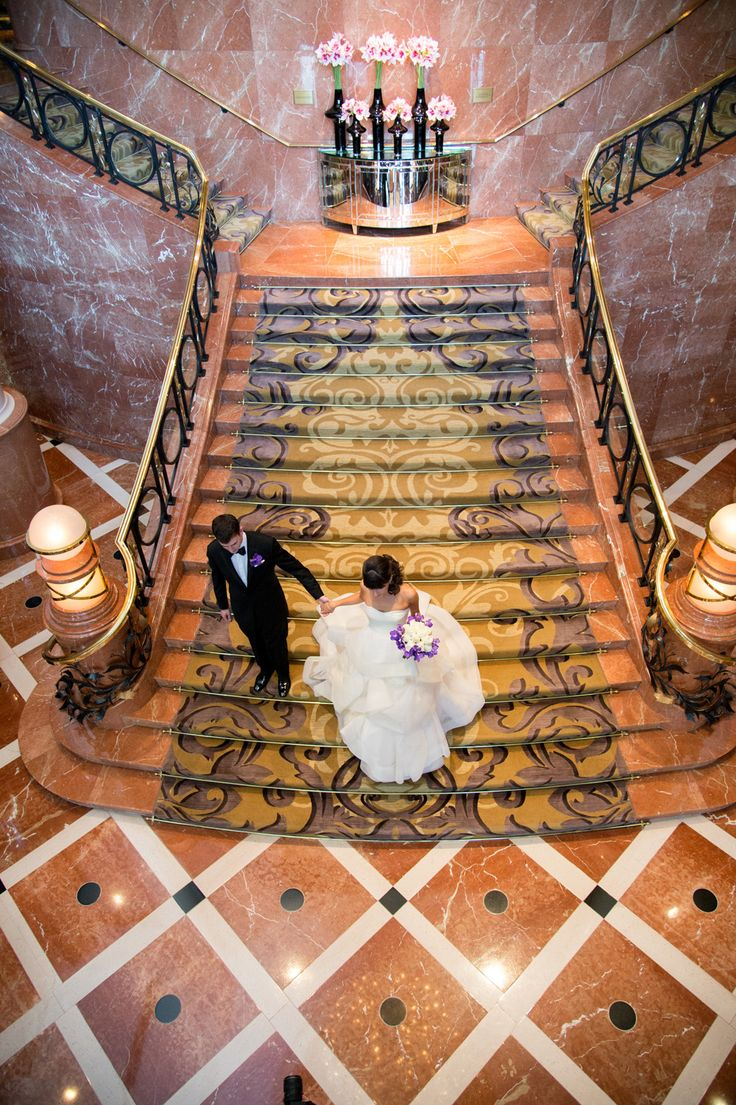 wedding venues on budget in atlanta%0A A stunning stairway moment at Four Seasons Hotel Atlanta   An Atlanta  Wedding Venue   www