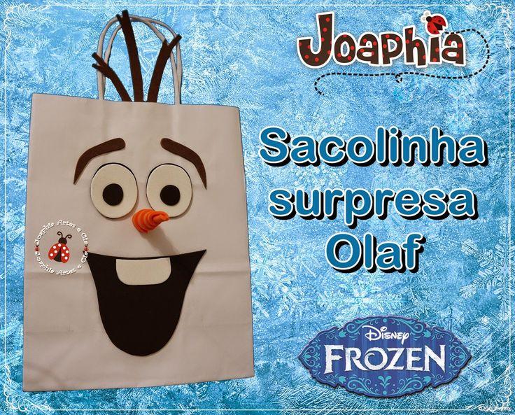 Sacolinha Olaf