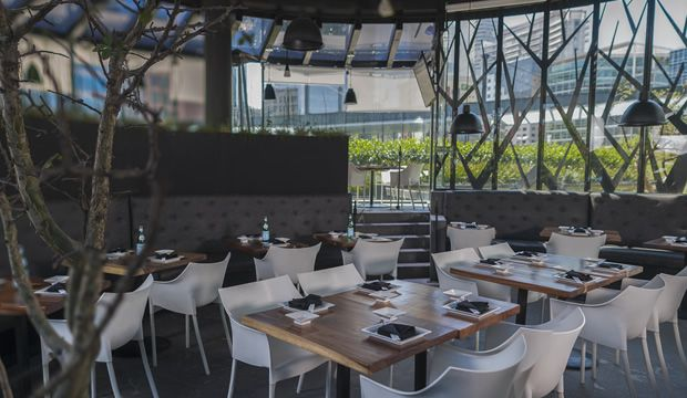 boku asian restaurant,interior design, santa fe; mexico city.