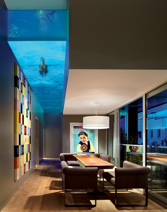 Pools You Can See Through Home Pinterest Ceilings