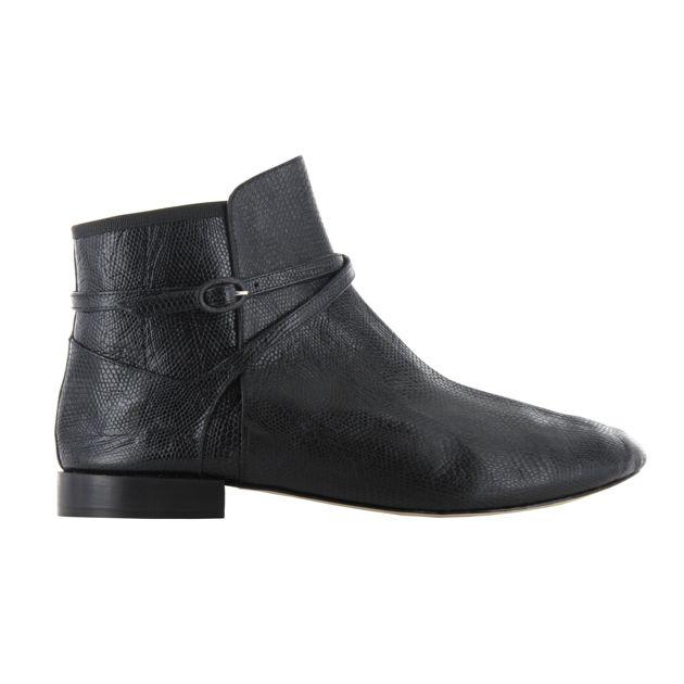 boots repetto iguane noir