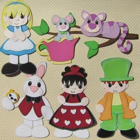 Looking for paper crafts project inspiration check out for Alice in wonderland crafts