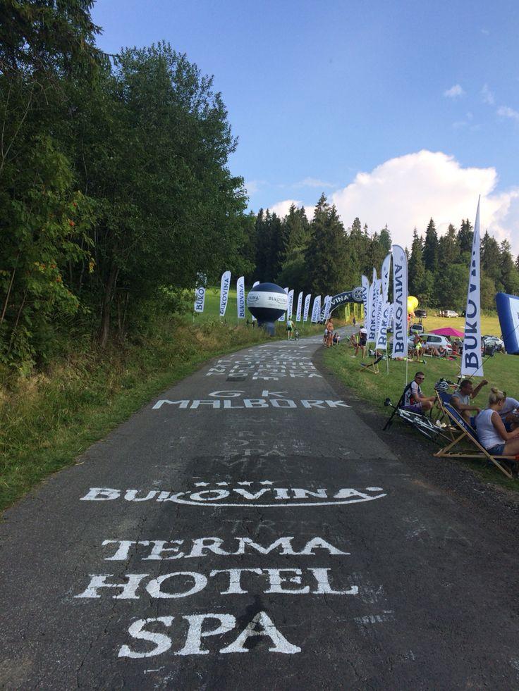 Tour de Pologne - Bukovina wall