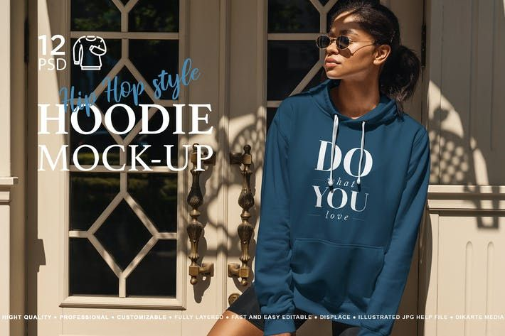 Download Hoodie Mock Up Hip Hop Style By Temaphoto On Envato Elements
