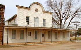 The Brookville Hotel, which survived more than a century  as a restaurant in Brookville, Kansas stands abandoned and lonely today.  However, a new version of the the restaurant is now open in now stands in Abilene, Kan