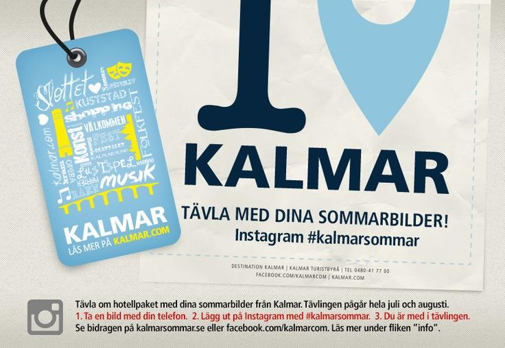 Tävlingsapp Instagram för Kalmar.