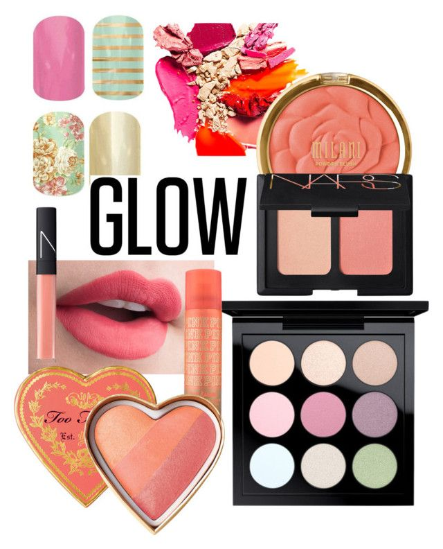 """""""Spring has Sprung"""" by heather-harmon-i ❤ liked on Polyvore featuring beauty, Milani, NARS Cosmetics, MAC Cosmetics and springglow"""