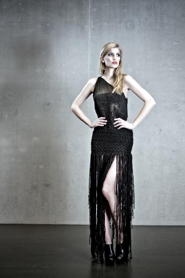 Macramé 2013 - Jana Mikešová - AAAD Prague, Fashion Art Studio